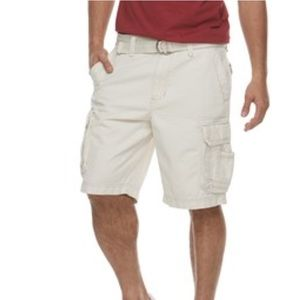 NWT Sonoma cargo shorts sz 34